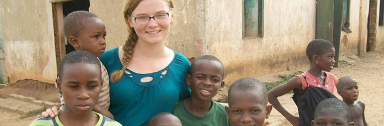 volunteer in orphanage project in ghana