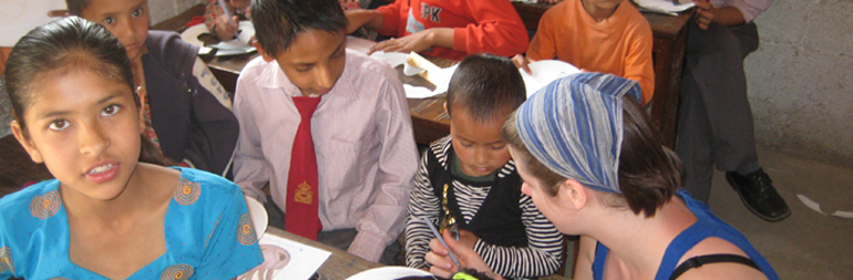 volunteer in street children project in palampur & dharamsala, india