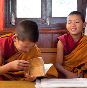 Nepal Teaching Monks
