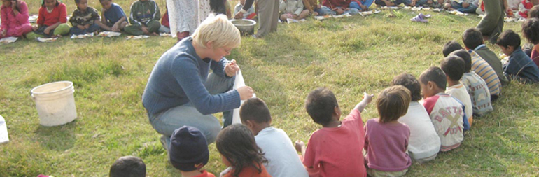 volunteer in orphanage project in nepal