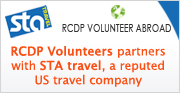 RCDP volunteers is partner with STA Travel