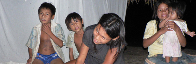 volunteer in street children project in peru
