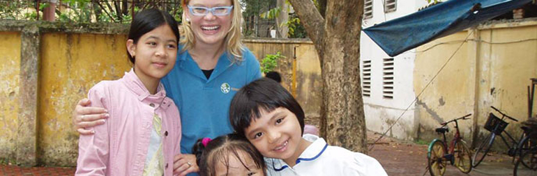 Work with Disadvantaged Children in thailand